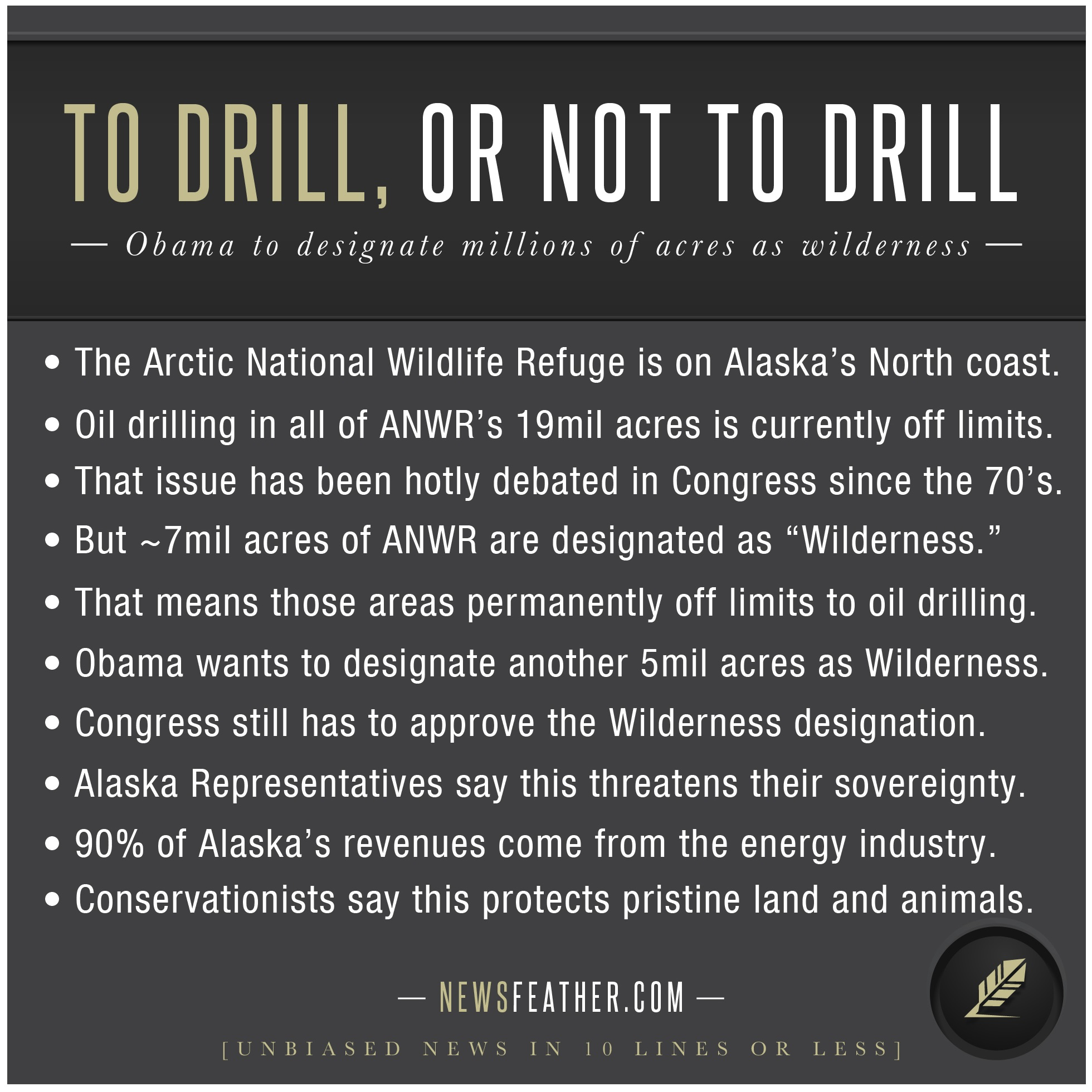 to drill or not to drill To drill or not to drill hum/111 february 6, 2011 axia college of university of phoenix to drill or not to drill i believe that we should just continue drilling off the gulf coast, alaska, and other areas within our country that are currently not being explored.